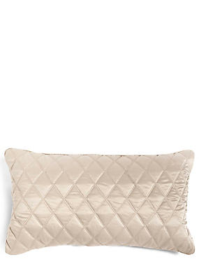 Diamond Quilt Cushion