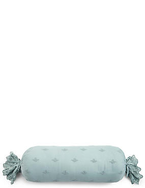 Lace Bolster Cushion