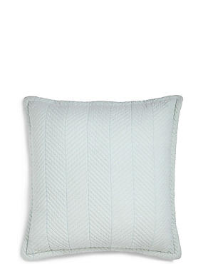 Quilted Cotton Cushion