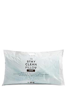 Stay Clean Firm Pillow, , catlanding