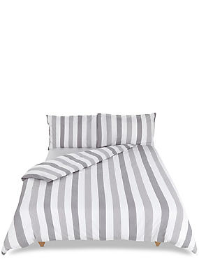 Hadley Striped Bedding Set, CHARCOAL MIX, catlanding