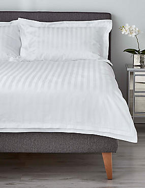 Double Cuff Bedding Set, WHITE, catlanding