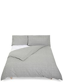 Dawson Check Brushed Bedding Set