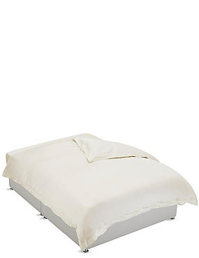 750 Thread Count Luxury Supima® Cotton Sateen Duvet Cover, CREAM, catlanding
