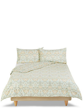 Cotton Rich Allegra Tapestry Floral Print Bedset