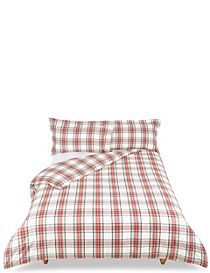 Austin Check Brushed Bedding Set