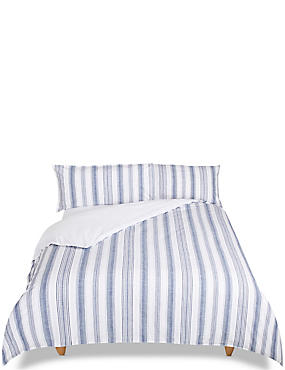 Striped Bedding Set