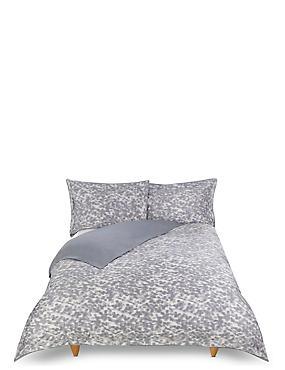 Smudge Print Bedding Set, GREY MIX, catlanding