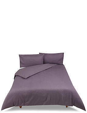 Diamond Matelassé Bedding Set