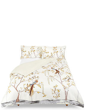 Aurelia Print & Embroidered Bedding Set