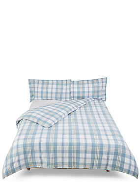 Harrison Check Brushed Bedding Set