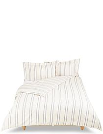 Hampden Stripe Brushed Bedding Set