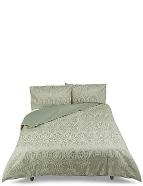 Abbey Damask Jacquard Bedding Set