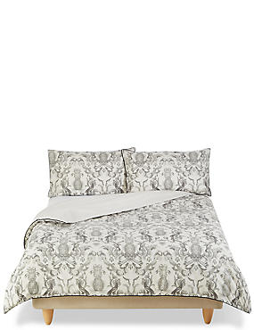Talia Pineapple Print Bedding Set