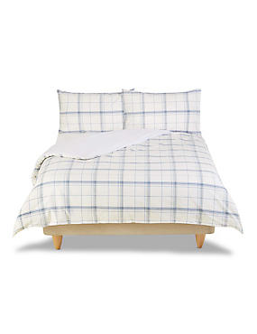 Open Checked Bedset