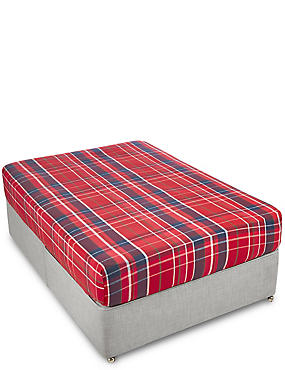 Tartan Check Deeper Fitted Sheet