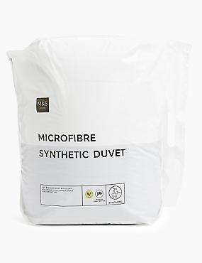 Microfibre 10.5 Tog Duvet, WHITE, catlanding
