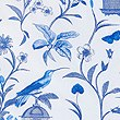 Hummingbird Print Bedding Set, BLUE MIX, swatch
