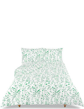 Hummingbird Print Bedding Set