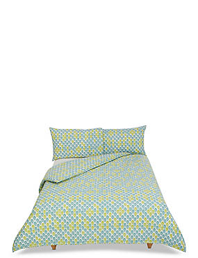 Ella Leaf Bedding Set, LIME MIX, catlanding