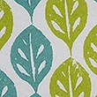 Ella Leaf Bedding Set, LIME MIX, swatch
