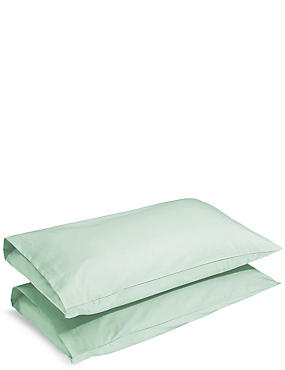 2 Pack Extraordinary Value Pillowcase, DUCK EGG, catlanding