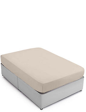 Pure Egyptian Cotton 400 Thread Count Fitted Sheet