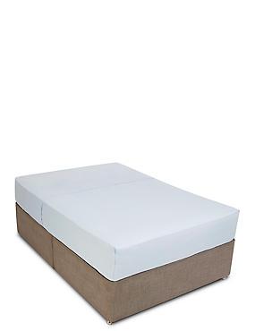 Egyptian Cotton 400 Thread Count Flat Sheet, POWDER BLUE, catlanding