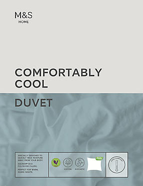 Comfortably Cool 1 Tog Duvet