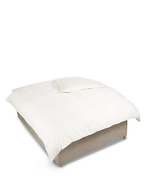 Egyptian Cotton 400 Thread Count Sateen Duvet Cover, LIGHT CREAM, catlanding