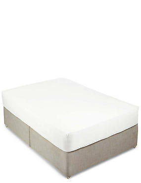400 Thread Count Sateen Fitted Sheet