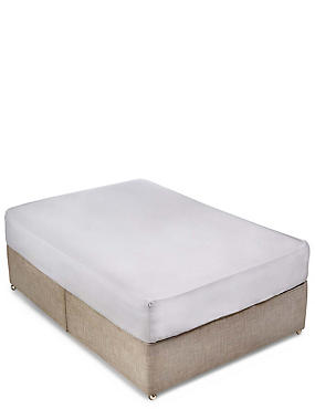 400 Thread Count Sateen Deep Fitted Sheet