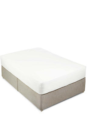 Pure Egyptian Cotton 400 Thread Count Sateen Deep Fitted Sheet