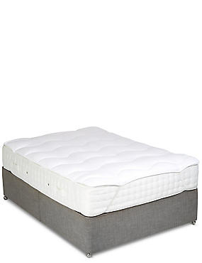 Simply Soft Mattress Topper, WHITE, catlanding