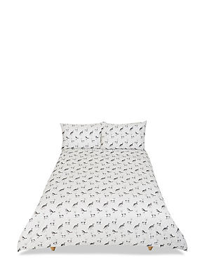 Winter Etched Animal Bedset