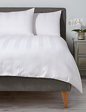 Variated Satin Stripe Bedding Set