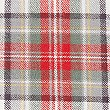 Austin Check Brushed Cotton Bedding Set, RED MIX, swatch