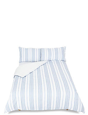 Multi Twill Printed Stripe Bedding Set