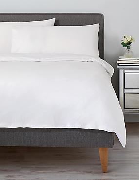 Jersey Duvet Cover, WHITE, catlanding