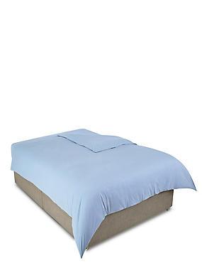 Jersey Duvet Cover, BLUE MARL, catlanding