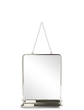 vintage hanging mirror