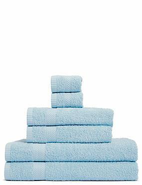 Lightweight Towel Bale, DUCK EGG, catlanding