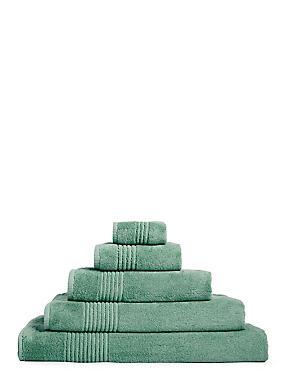 Luxury Egyptian Cotton Towel, DUSTY GREEN, catlanding