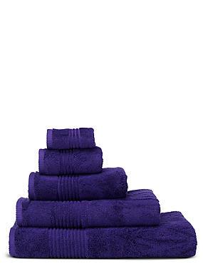 Luxury Egyptian Cotton Towel, PURPLE, catlanding