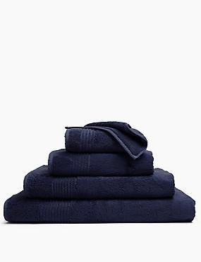 Luxury Egyptian Cotton Towel, NAVY, catlanding