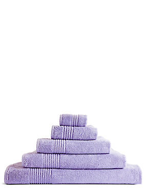 Luxury Egyptian Cotton Towel, LILAC, catlanding