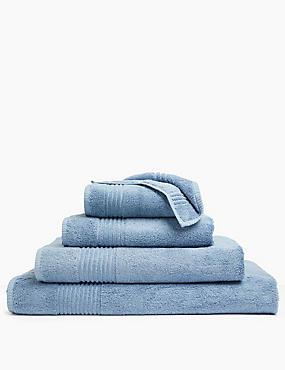 Luxury Egyptian Cotton Towel, DENIM, catlanding