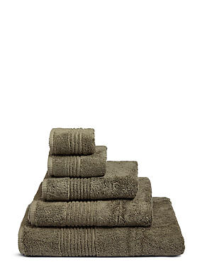 Luxury Egyptian Cotton Towel, KHAKI, catlanding