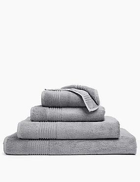 Luxury Egyptian Cotton Towel, SILVER GREY, catlanding