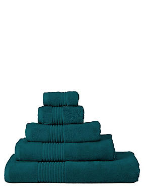 Luxury Egyptian Cotton Towel, ANTIQUE GREEN, catlanding
